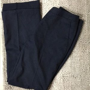 Navy Brooks Brothers wool lined slacks pants 6